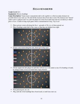 PE Game Sheet: Scavengers