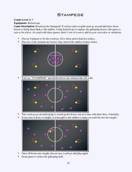PE Game Sheet: Stampede