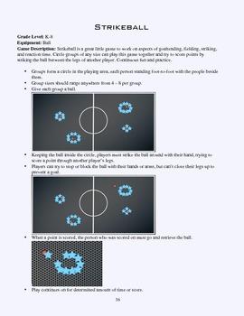 PE Game Sheet: Strikeball