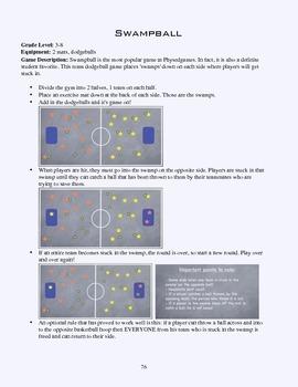 PE Game Sheet: Swamp Ball