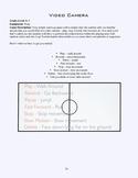 PE Game Sheet: Videocamera