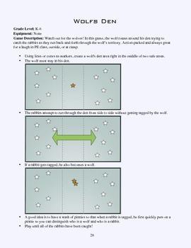 original 1421014 1 pe game sheet wolf's den by physedgames teachers pay teachers