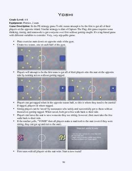 PE Game Sheet: Yoshi
