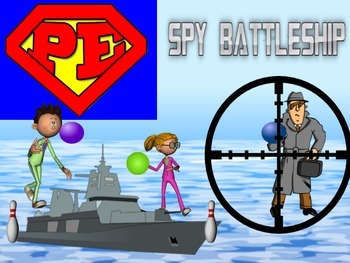 "Super PE Game - ""Spy Battleship"""