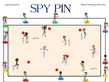 "Super PE Game - ""Spy Pin"""