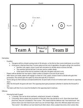 PE Game Trashball!