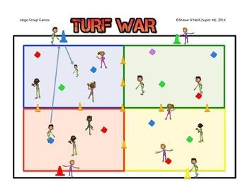 "Super PE Game - ""Turf War"""