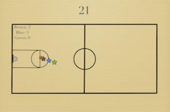PE Game Video: 21 Basketball