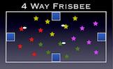 PE Game Video: 4-Way Frisbee