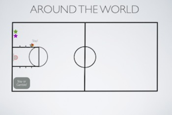 PE Game Video: Around The World Basketball