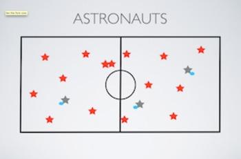 PE Game Video: Astronauts