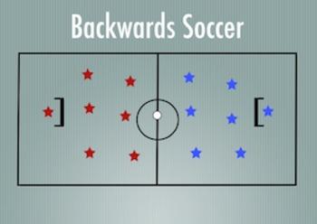 PE Game Video: Backwards Soccer