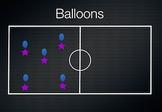 PE Game Video: Balloons