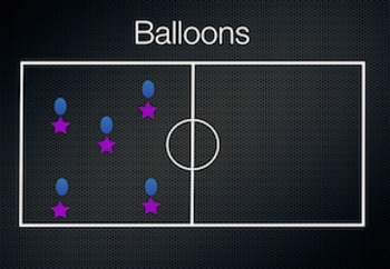 PE Game Video: Balloons
