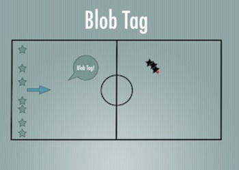 PE Game Video: Blob Tag