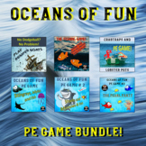 PE Games - Oceans of Fun Physical Education Games.  6 Games!