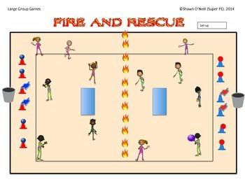 "Super PE Game - ""Fire and Rescue"""