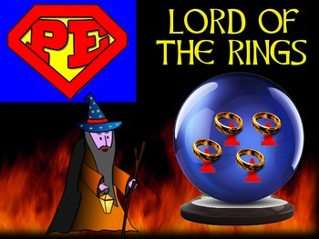 """Super PE Game - """"Lord of The Rings"""""""