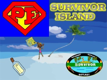 "Super PE Game - ""Survivor Island"""
