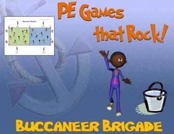 "PE Games that Rock! - ""Buccaneer Brigade"""