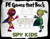 "PE Games that Rock! - ""Spy Kids"""