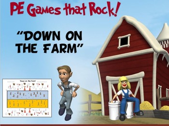 """PE Games that Rock! - """"Down on the Farm"""""""
