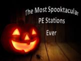 PE Halloween Fitness Stations