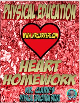 PE/Gym Heart Homework