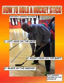 PE: Hockey Skill Cue Poster
