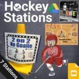PE Hockey Station Signs (Google Slides)