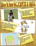 "PE ""How to Catch a Ball"" Skill Cue Poster"
