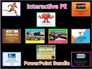 PE Interactive PowerPoint Bundle