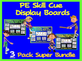 PE Skill Cue Display Boards- 3 Pack Super Bundle