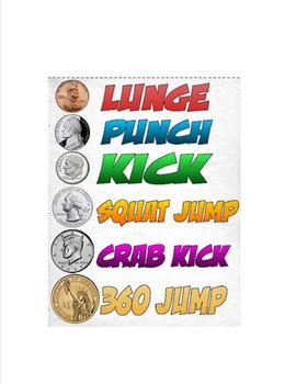 PE Money Fitness Coins