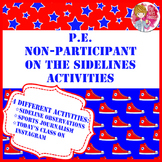 PE Non-Participant On the Sidelines Activity Pack