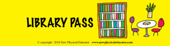 PE Passes for Physical Education Elementary