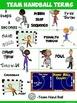 PE Poster: Team Handball Game Terms