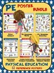 PE Poster Bundle: Physical Education and Health: 12 Reference Posters