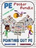 PE Poster Bundle: ->Pointing out PE-> 9 Visual Set