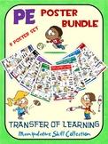 PE Poster Bundle: Transfer of Learning- Manipulative Skill