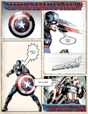 PE Poster: Captain America Warm ups