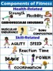 PE Poster: Components of Fitness- Health and Skill-Related
