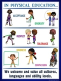 PE Poster: Diversity and Inclusion in Physical Education- Anchor Poster
