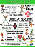 PE Poster: Exercise Tips