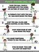 PE Poster: Foot Dribbling Cues