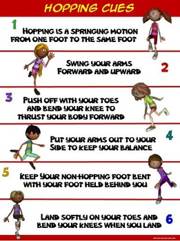 PE Poster: Hopping Cues