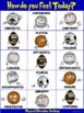 PE Poster: How do you Feel Today?  Physical Education Emotions