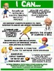 "PE Poster: ""I Can"" Statements- High School Version;Standard 2: Movement Concepts"