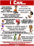 """PE Poster: """"I Can"""" Statements- High School Version; Standa"""
