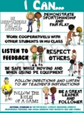 "PE Poster: ""I Can"" Statements- Standard 4: Personal and So"